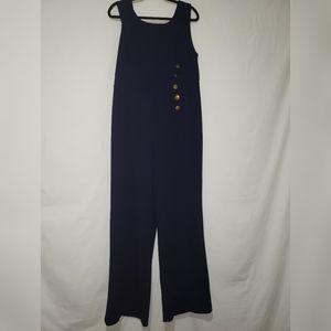 Ny&Co: Navy blue sleeveles jumper